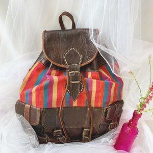 (READ DESCRIPTION) Genuine Moroccan leather bag